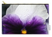 Pansy Tears Carry-all Pouch
