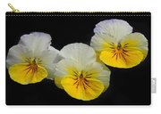 Pansy Trio Carry-all Pouch