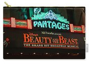 Pantages Theather Marquie Carry-all Pouch