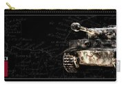 Panzer Tiger I Front Bk Bg Carry-all Pouch