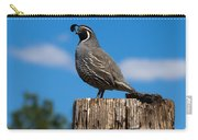 Papa Quail Carry-all Pouch