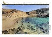 Papagayo Beach On Lanzarote Carry-all Pouch