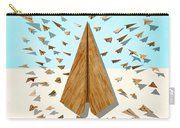 Paper Airplanes Of Wood 10 Carry-all Pouch