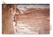 Paper Bark Background Carry-all Pouch