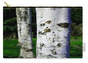 Paper Birch Trees Carry-all Pouch