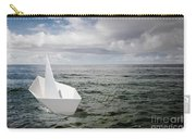 Paper Boat Carry-all Pouch by Carlos Caetano