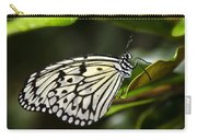 Paper Kite Butterfly On A Leaf  Carry-all Pouch