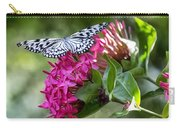Paper Kite On Fluid Blossoms Carry-all Pouch