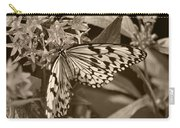 Paper Kite On Frangipani Flowers Carry-all Pouch