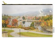 Paper Mill And Fall Colors In Rumford Maine Carry-all Pouch