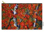 Paper White Birch Reflections Carry-all Pouch