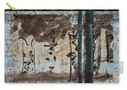 Papers And Inks Carry-all Pouch by Carol Leigh