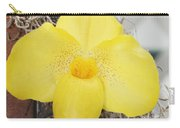 Paphiopedilum Fumis Gold Carry-all Pouch