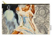 Papillon Art - Una Parisienne Movie Poster Carry-all Pouch