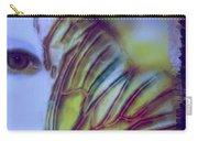 Papillon Bleu Carry-all Pouch