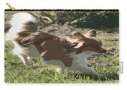 Papillon In Flight Carry-all Pouch