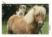 Papillon Riding Shetland Pony Carry-all Pouch
