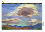 Papoose Lake And Clouds Carry-all Pouch