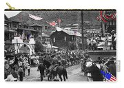 Parade Bisbee Arizona July 4th 1909 Color Added 2013 Carry-all Pouch