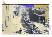 Parade Honoring General Nelson A. Miles  11-08-1887 Geronimo's Capture Tucson Color Added 2008 Carry-all Pouch