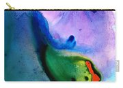 Paradise Found - Colorful Abstract Painting Carry-all Pouch