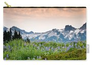 Paradise Meadows And The Tatoosh Range Carry-all Pouch