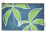 Paradise Palm Trees Carry-all Pouch by Linda Woods