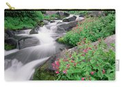 Paradise River And Spring Wildflowers Carry-all Pouch