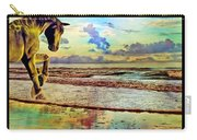 Paradise Sunset Carry-all Pouch by Betsy Knapp