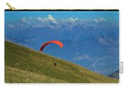 Paragliding In The Mountains Carry-all Pouch