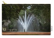 Parc De Bruxelles Fountain Carry-all Pouch