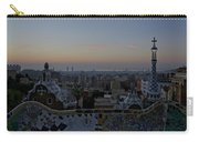 Parc Guell At Sunrise Carry-all Pouch
