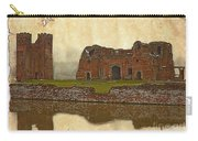 Parchment Texture Kirby Muxloe Castle Carry-all Pouch