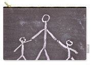 Parent And Children Carry-all Pouch by Tom Gowanlock