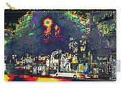 Paris At Midnight Limo Pleasure Drive Carry-all Pouch