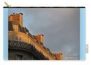 Paris At Sunset Carry-all Pouch