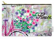 Paris By Jan Marvin Carry-all Pouch