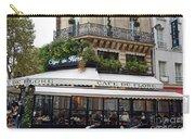 Paris Cafe De Flore - Paris Fine Art Cafe De Flore - Paris Famous Cafes And Street Cafe Scenes Carry-all Pouch