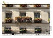 Paris Cartier Window Boxes - Paris Cartier Windows And Flower Boxes - Cartier Paris Building  Carry-all Pouch