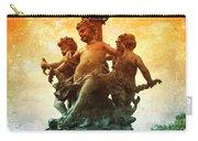 Paris Cherubs Carry-all Pouch