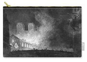 Paris, France Fire, 1773 Carry-all Pouch