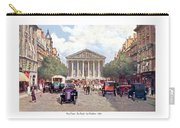 Paris France - The Rue Royal And The Madeleine - 1910 Carry-all Pouch