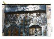 Paris Guerlain Storefront Boutique - Paris Guerlain Blue Door Art Nouveau Art Deco Door Carry-all Pouch