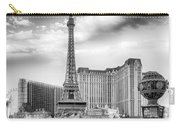 Paris Las Vegas Carry-all Pouch by Howard Salmon