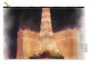 Paris Las Vegas Photo Art Carry-all Pouch