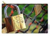 Paris Love Lock Carry-all Pouch
