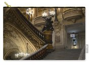 Paris Opera Garnier Grand Staircase - Paris Opera House Architecture Grand Staircase Fine Art Carry-all Pouch