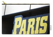 Paris Sign Carry-all Pouch