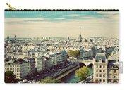 Paris Skyline France. Eiffel Tower Carry-all Pouch