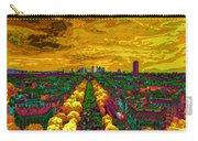 Paris Skyline Pop Art Carry-all Pouch